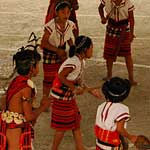 Children in traditional costume