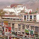 Potala Palace from the Jokang Temple